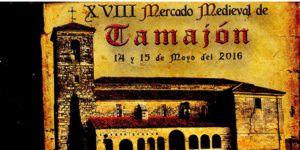 Fragmento del Cartel del Mercado Medieval de Tamajón 2016.