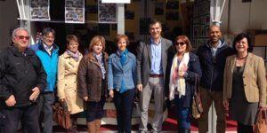 Román inaugura la I Feria de las Asociaciones.