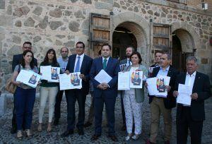 Alcaldes del PP entregan reivindicaciones en el Palacio de Fuensalida, 080616