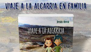 Cartel presentación libro Viaje a la Alcarria en familia