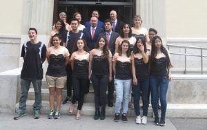 Alumnos de la UAH que realizarán el Viaje a la Alcarria.