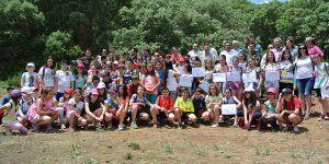 El Gobierno regional celebra el Día del Medio Ambiente en el Parque Natural de las Lagunas de Ruidera con la suelta de un ave silvestre recuperada en El Chaparrillo
