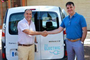 Entrega vehículo eléctrico
