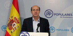 Juan Pablo Sanchez secretario general del PP de  Guadalajara