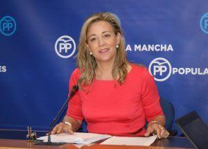 Lola Merino en rueda de prensa, 290616