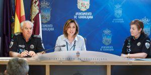Presentación de actividades por el 25 aniversario de educación vial en Guadalajara, Encarnación Jiménez