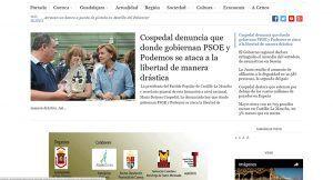 Portada El Liberal de Castilla