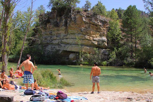 La provincia de guadalajara cuenta este verano con ocho for Piscinas naturales castilla y leon