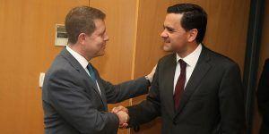 Reunión con el ministro de Planificación e Infraestructura del Gobierno de Portugal