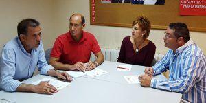 Reunión PSOE asociaciones Guardia Civil