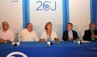 Cospedal hace un llamamiento a la responsabilidad para que España tenga un gobierno estable y que dé garantías de futuro