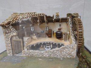 Maqueta antigua fábrica de chocolate de Brihuega