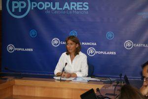 Ana Guarinos en rueda de prensa, 310816