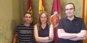 Concejales de Ciudadanos en el Ayuntamiento de Cuenca.