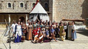 Feria medieval en Fuentenovilla