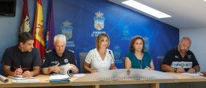 Presentación del Dispositivo de seguridad Ferias y Fiestas 2016