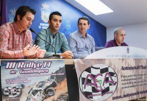 presentación oficial del III Rallye TT de Guadalajara