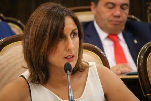 Yolanda Ramirez Portavoz de C's en la Diputación de Guadalajara