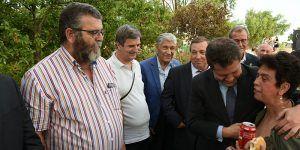 Page durante un acto de ASPADEC en Cuenca