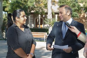 Información sobre realización de inversiones en Taracena, Belén Sánchez, Alcaldesa de la pedanía