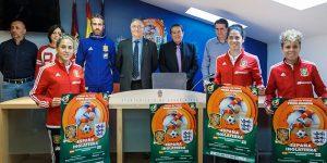 Presentación del encuentro de fútbol femenino entre las selecciones  absolutas  de España e Inglaterra