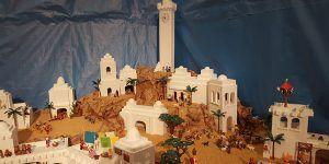 Belén de Playmobil del Resucitado de Cuenca