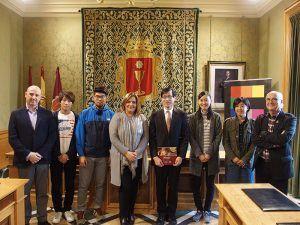 Visita japoneses a Cuenca.