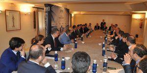 El presidente de Cepyme revisa la actualidad empresarial de la provincia con la Junta Directiva de CEOE-Cepyme Cuenca