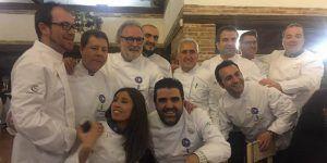 El cocinero seguntino Angel Mielgo, segundo clasificado en el I Concurso Euro-Toques Castilla-La Mancha
