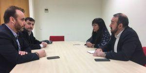 18.01.2017 Antonio De Lamo y Silvia García reunión con GUADAPAMAS | Liberal de Castilla