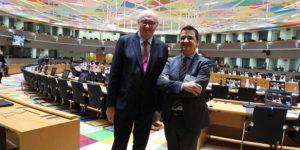 El consejero de Agricultura Medio Ambiente y Desarrollo Rural Francisco Martínez Arroyo asiste a la primera reunión del Consejo de Ministros de Agricultura de la Unión Europea | Liberal de Castilla
