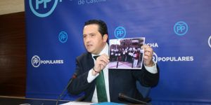 Lucas Torres en rueda de prensa 240117 | Liberal de Castilla