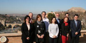 Robisco y alcaldes CLM 250117 | Liberal de Castilla