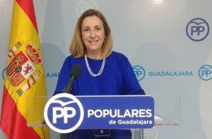Silvia Valmaña hoy en rueda de prensa 230117 | Liberal de Castilla