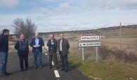 Latre resalta la importante mejora de la carretera de Armallones en pleno Alto Tajo