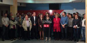 Araceli Martínez, Elena de la Cruz, Alberto Rojo..., entre los integrantes del grupo de trabajo de apoyo a Susana Díaz en Guadalajara