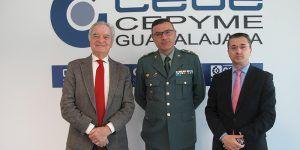 CEOE-Cepyme Guadalajara colabora con la Guardia Civil para formar a los suboficiales en materia de inteligencia emocional