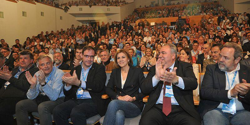 Cospedal renueva la Presidencia regional del PP de Castilla-La Mancha con el 96,12% de los votos