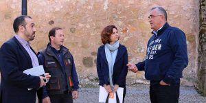 C's Guadalajara visita Sacedón para conocer de primera mano la situación de Entrepeñas