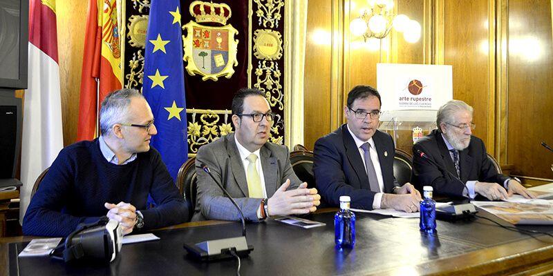 Diputación apuesta por el Centenario del descubrimiento de las pinturas rupestres como revulsivo turístico de Villar del Humo