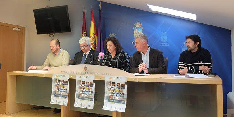 El Palacio Multiusos de Guadalajara será la sede del 22º Campeonato Regional de Fútbol Sala organizado por Fecam