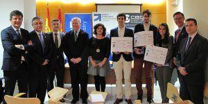 Entregados los premios del I Concurso de Diseño Industrial del Mueble a estudiantes de la UAH