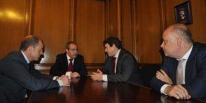 Los presidentes de CEOE-Cepyme Cuenca y Cámara de Comercio, abiertos a la colaboración