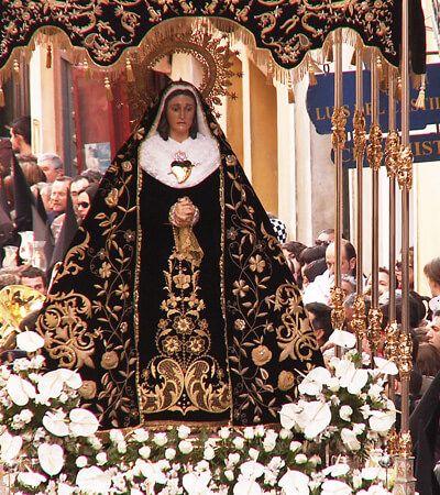 Comienzan los actos y cultos de la V. H. de Ntra. Sra. de la Soledad (de San Agustín) a sus Sagradas Imágenes