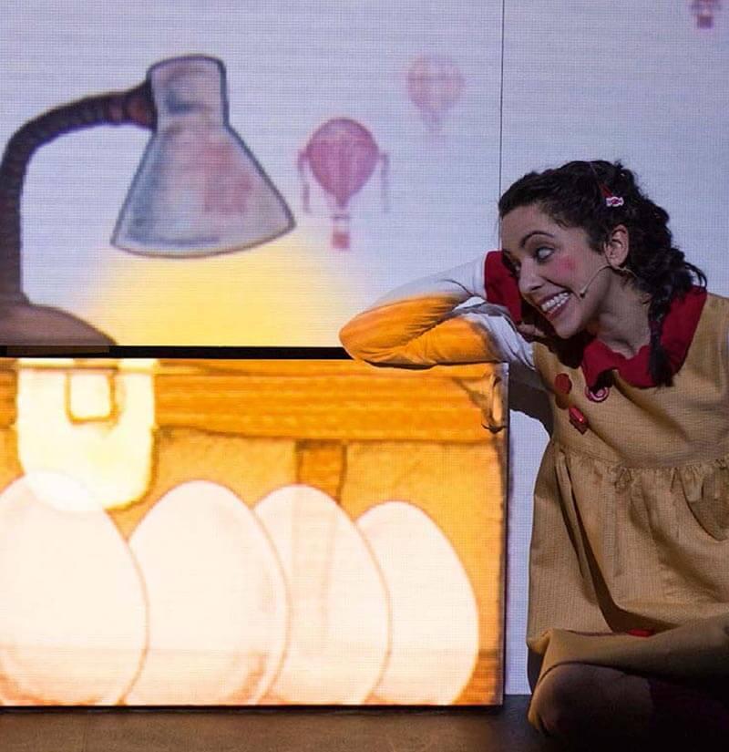 """Este domingo, """"A la luna"""" en el Teatro Moderno"""