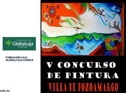 """La Fundación Globalcaja Cuenca colabora con el V Concurso-Exposición de Pintura """"Villa de Pozoamargo"""""""