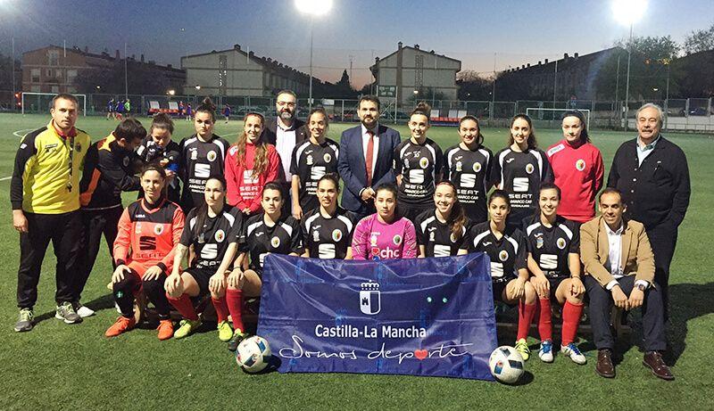 La Junta ha destinado 47.000 euros a clubes femeninos de alto nivel de Guadalajara durante la última temporada