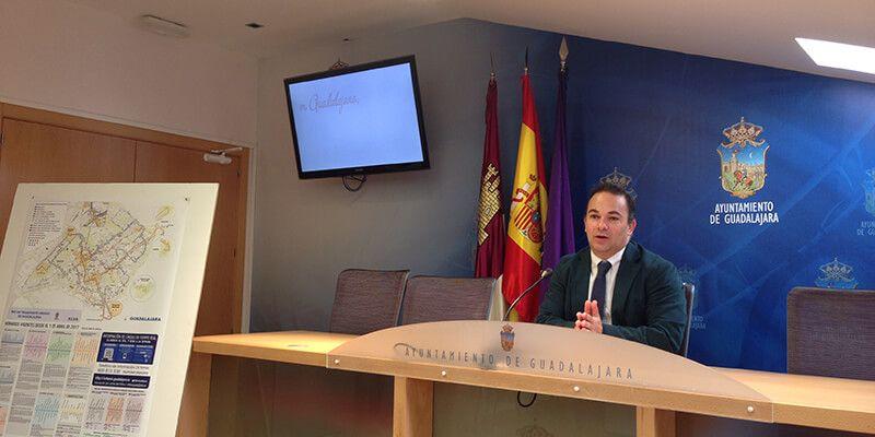 Nuevas paradas y mejoras en el servicio de autobuses urbanos de Guadalajara desde el 1 de abril