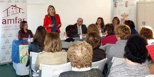 Ana María Merino, presidenta de AMFAR en Pozuelo de Calatrava