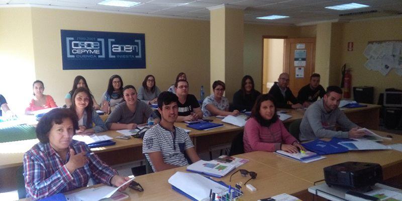 CEOE-Cepyme Cuenca forma en dinamización de actividades de tiempo libre a los desempleados de la Manchuela